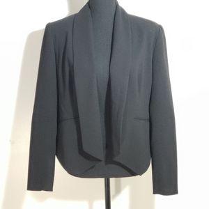 Premise. Black Open Front Blazer